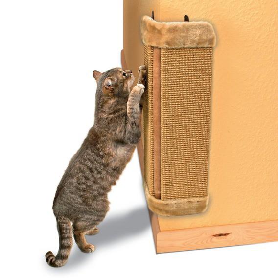 Когтеточки настенные для кошек своими руками