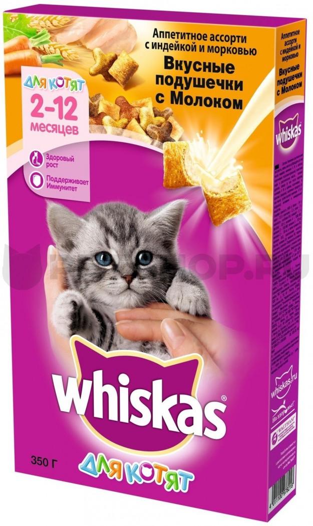 Виды корма для котят